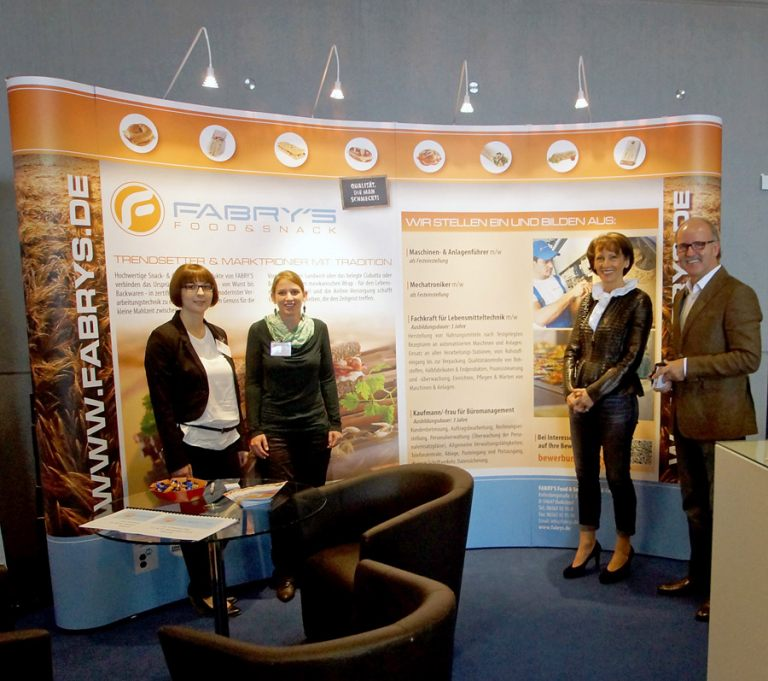 Messestand Gestaltung Fabrys Food & Snack